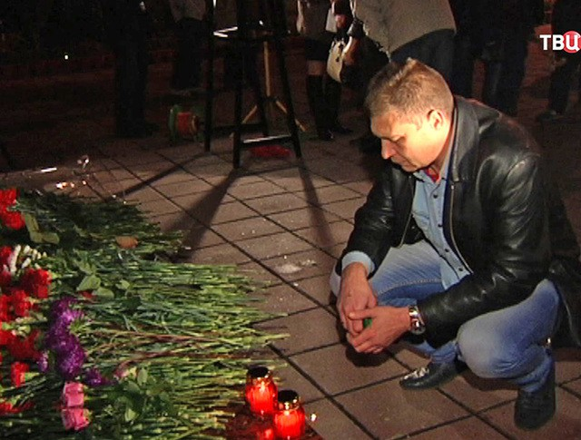 Траурные мероприятия в память о жертвах теракта на улице Гурьянова