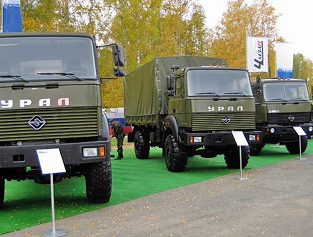 Военная выставка в Нижнем Тагиле