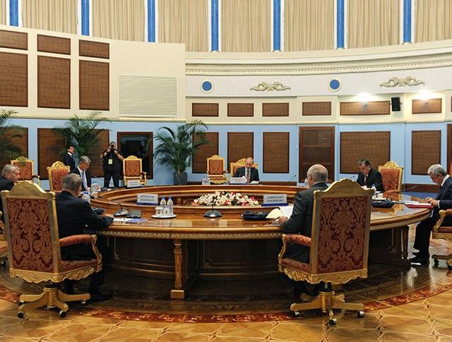 Заседание Совета коллективной безопасности Организации Договора о коллективной безопасности в узком составе