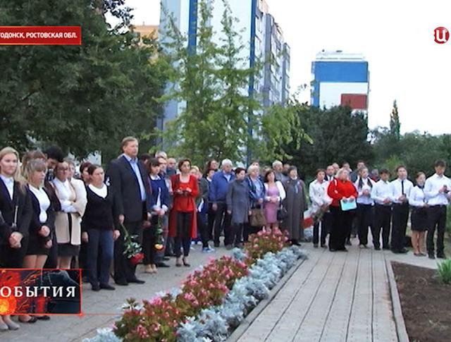 В Волгодонске вспоминают жертв теракта у дома на Октябрьском шоссе