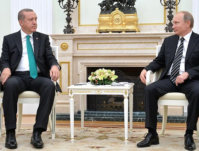 Переговоры Владимира Путина с Президентом Турции Реджепом Тайипом Эрдоганом