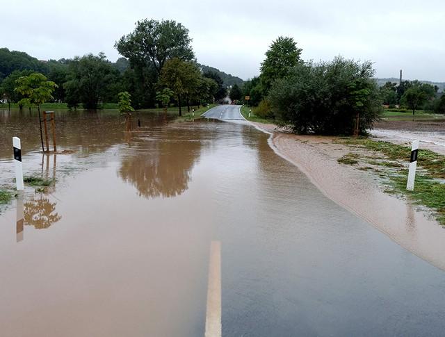 Последствия сильных дождей