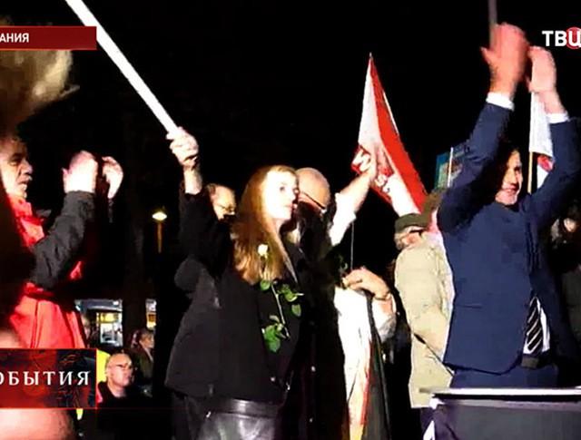 Митинг против миграционной политики Германии