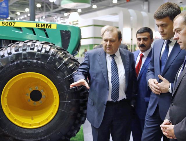 Дитрий Медведев посетил агровыставку