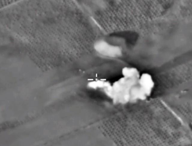 Авиаудары российских ВКС по позициям ИГ в Сирии