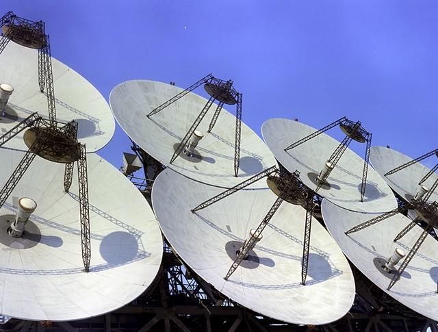 Антенная система командно-измерительного космического комплекса