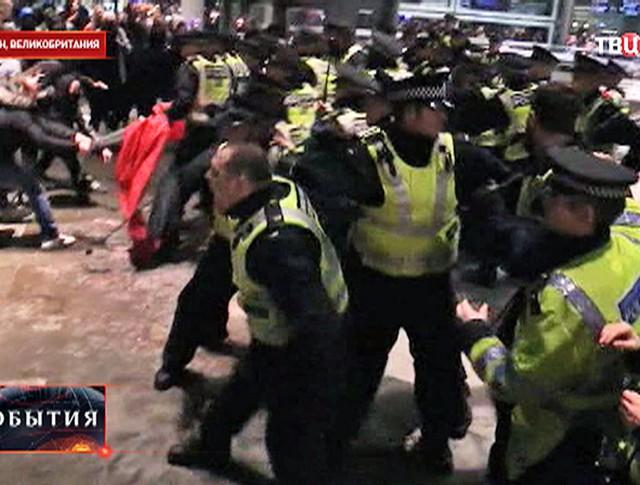 Митинг в Лондоне