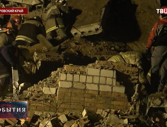 Взрыв газа в жилом доме в Хабаровском крае