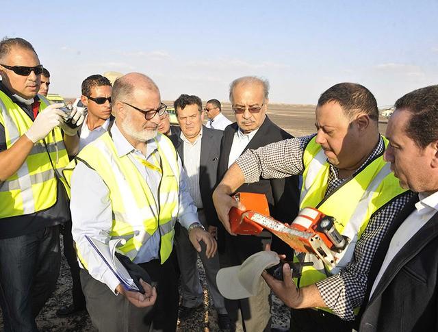 """""""Чёрные ящики"""" разбившегося в Египте A321"""