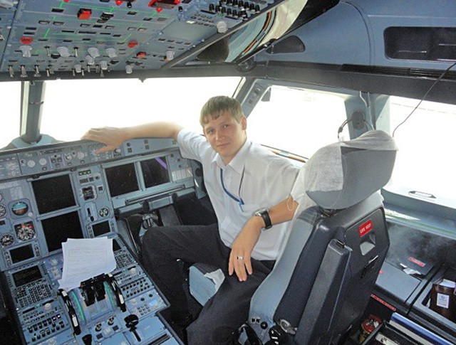 Бортпроводник разбившегося самолёта A321 Станислав Свиридов