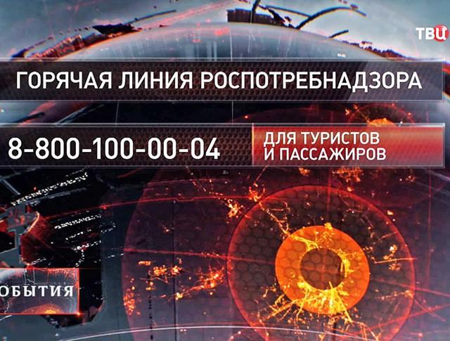 """""""Горячая линия"""" Роспотребнадзора в связи с отменой рейсов в Египет"""