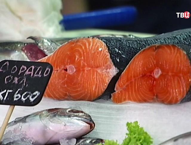 Рыба на прилавке