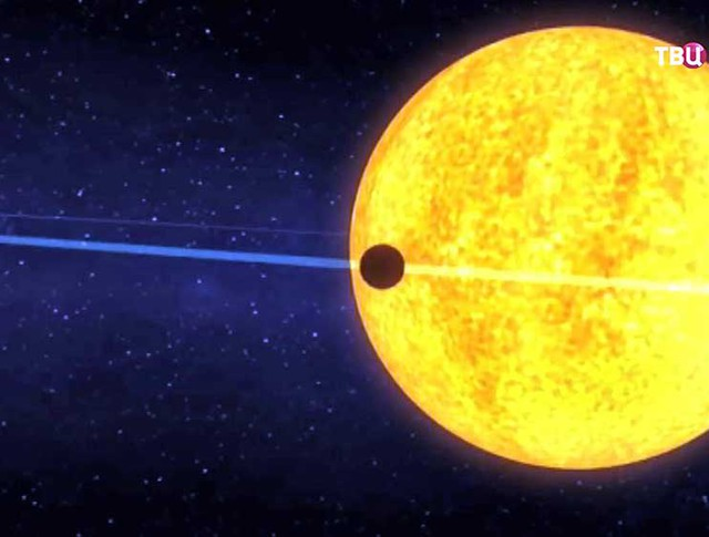 Модель близкой к звезде планеты