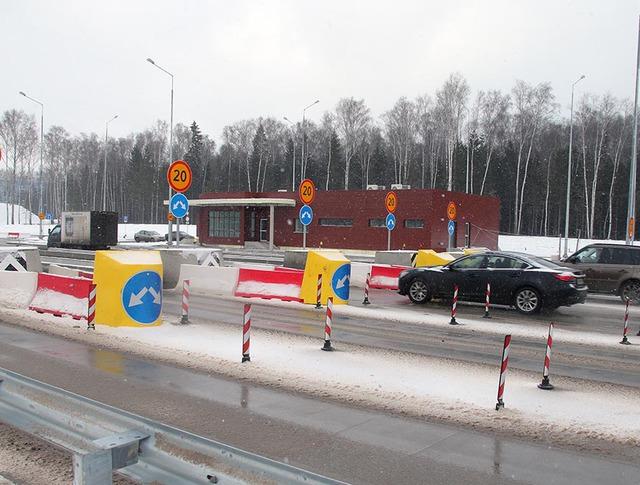 Участок скоростной трассы М11