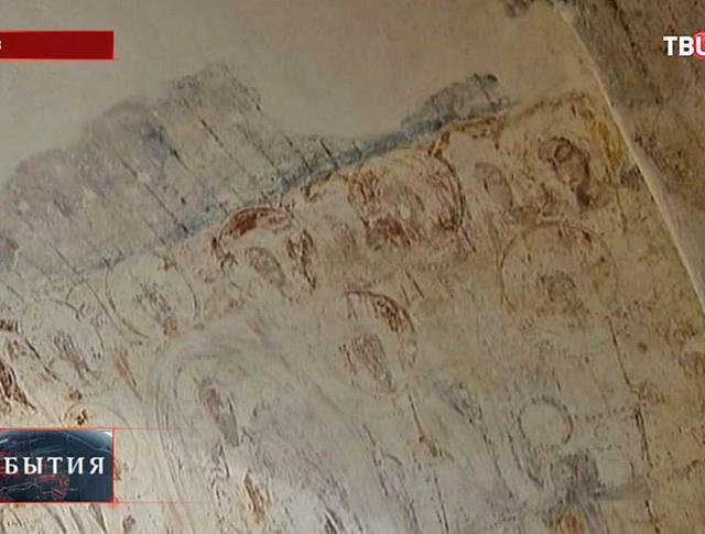 Старинная фреска