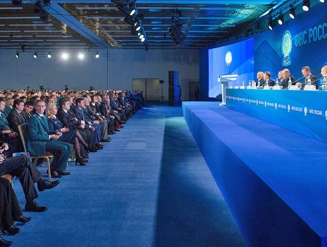 Заседание расширенной коллегии Федеральной налоговой службы