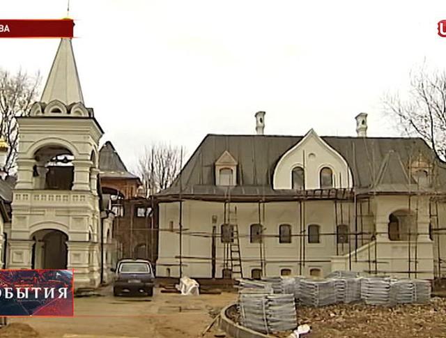 Строительство церкви в честь Серафима Саровского