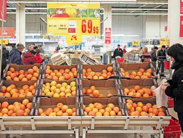 Турецкие продукты на российских прилавках