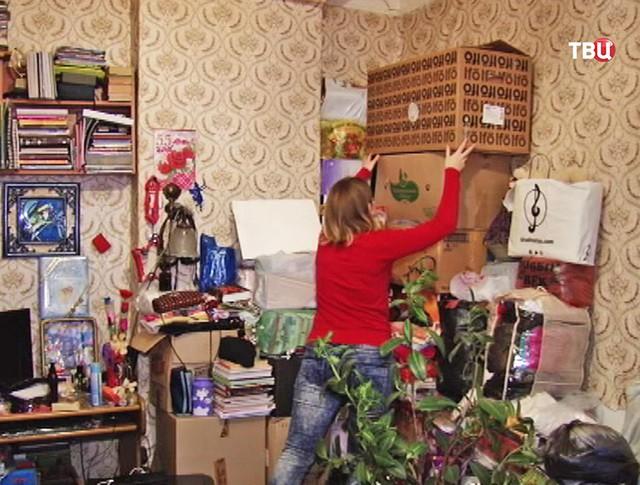 Жители аварийного дома