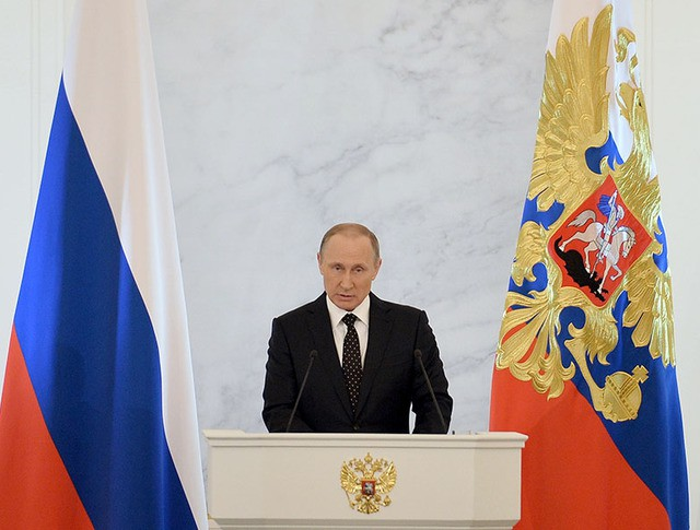 Владимир Путин обратился к Федеральному Собранию