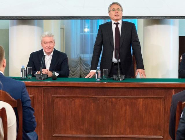 Сергей Собянин в МГТУ имени Н.Э. Баумана