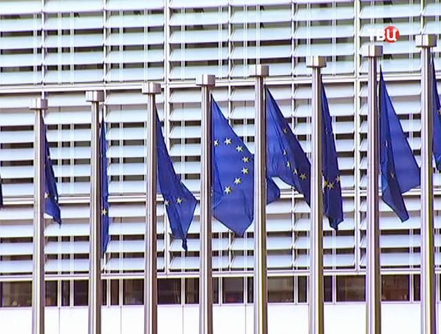 Здание штаб-квартиры Европейской комиссии в Брюсселе