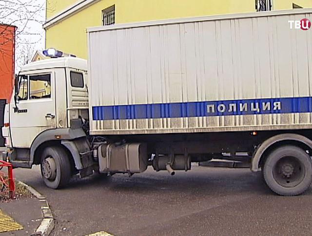 Доставка арестованного в Московский окружной военный суд