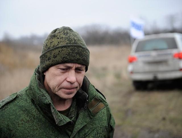 Заместитель командующего штабом ополчения ДНР Эдуард Басурин