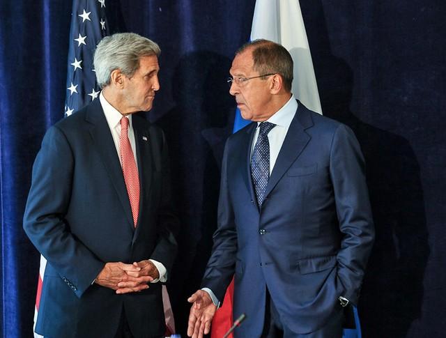 Глава МИД Сергей Лавров и госсекретарь США Джон Керри