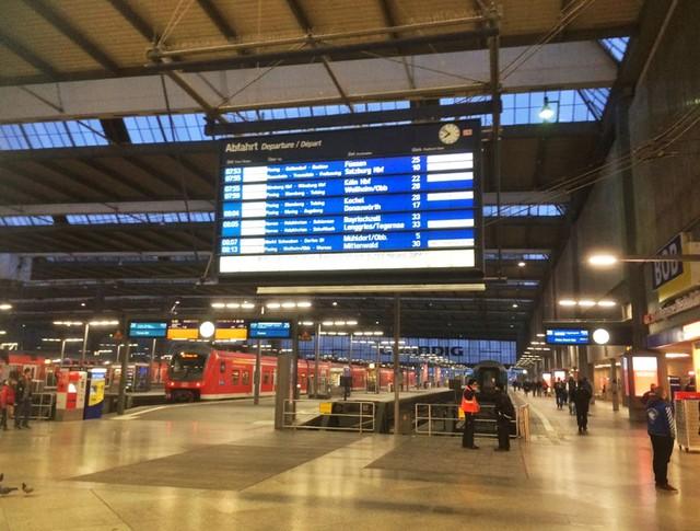 Вокзал в Мюнхене