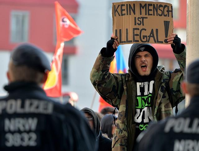 Беспорядки в Кельне, Германия