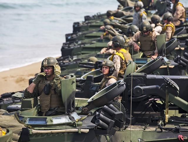 Военнослужащие армии США и Южной Кореи
