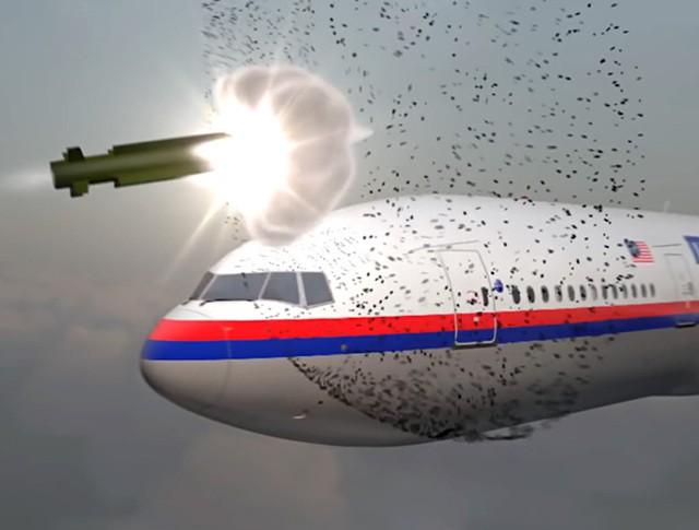 Моделирование крушения малайзийского самолета Boeing 777 Советом по нацбезопасности Нидерландов