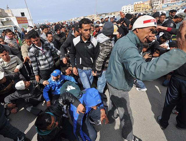 Беспорядки в Тунисе