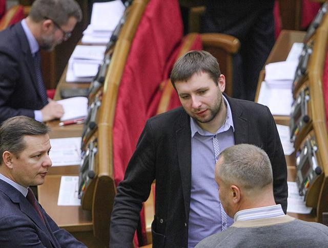Олег Ляшко и Владимир Парасюк