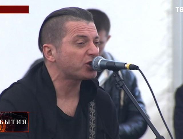 """Рок-группа """"Агата Кристи"""" в Сирии"""