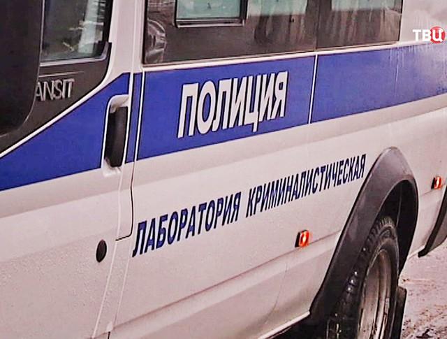 Машина криминалистического отдела полиции