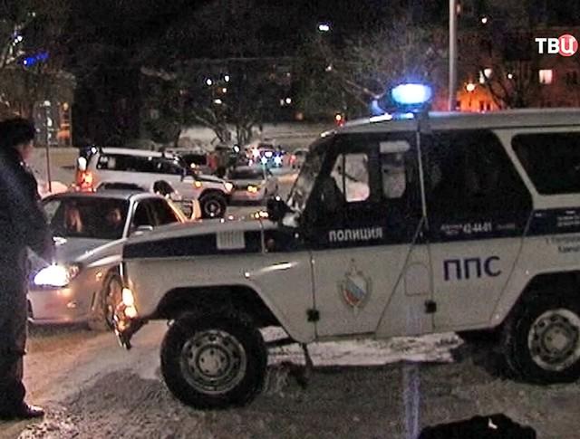 Полиция Камчатки на месте происшествия