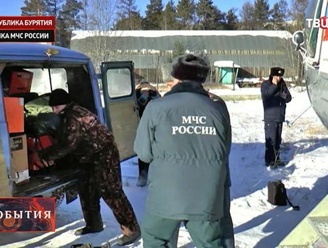 МЧС России на месте ЧП
