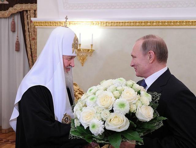 Встреча Владимира Путина с Патриархом Московским и всея Руси Кириллом