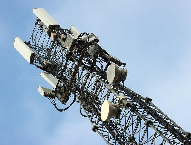 Новая вышка мобильной связи