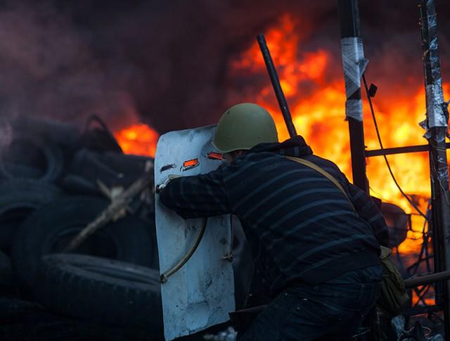 Беспорядки в Киеве. Февраль 2014 год