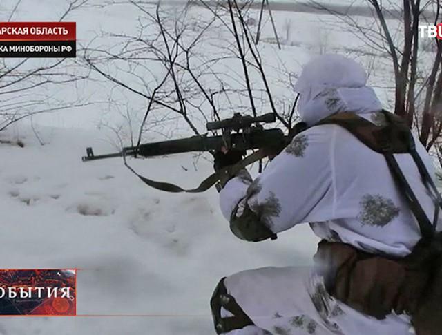 Военные снайперы в Самаре