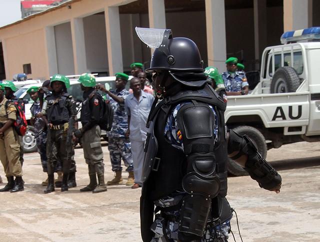 Сапер полиции Сомали