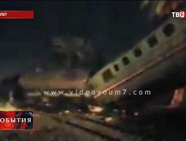 Крушение поезда в Египте