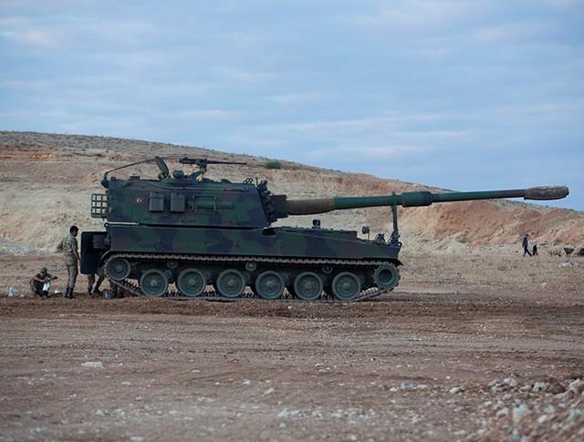 САУ турецкой армии