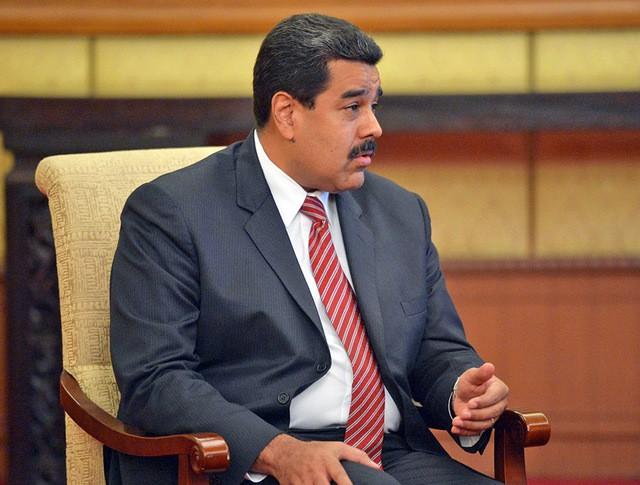 Президент республики Венесуэла Николас Мадуро