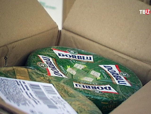 Коробки с сыром Dorblu