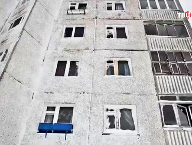 Последствия схода лавины в Кировске