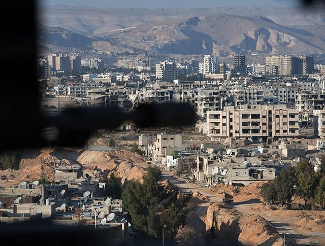 Вид на город Дамаск